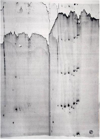 Michael Lentz - Sgraffito 431 - Original drawing