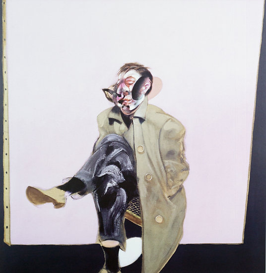 Francis Bacon Self Portrait Seated Print 1970 Buy art Online Affordable art Europe