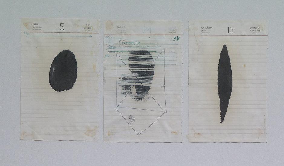 Lut Lenoir - Composities - Original work on paper