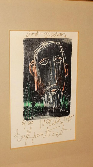 Maurits Verbist - Hand Signed Woodcut