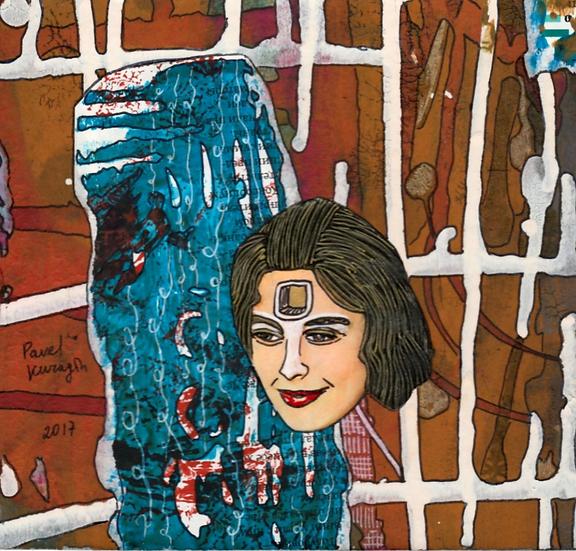 Pavel Kuragin - Collage 'Gate to mind'