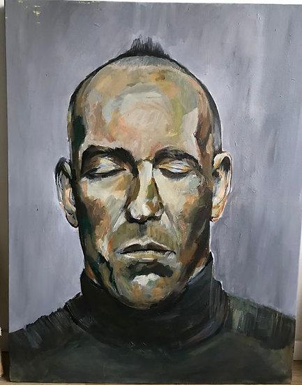 Joitske Hulsebosch (1966) - Fernando Ricksen II - Original work on canvas