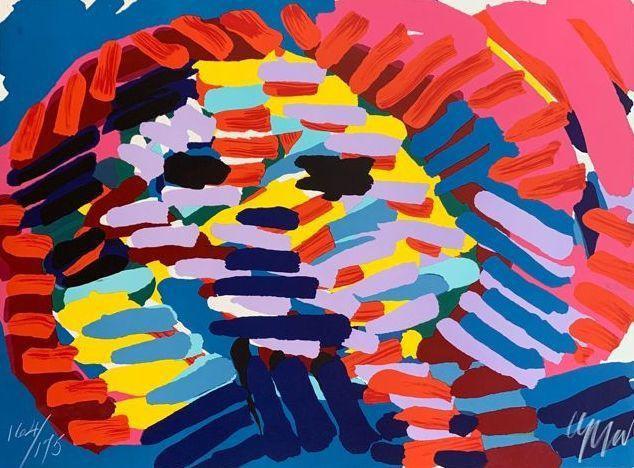 Karel Appel - Lion - Signed and numbered