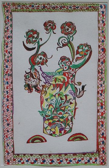 Martha GRÜNENWALDT - original work on paper