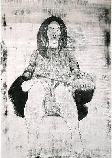 Michael Lentz - ROBE No 588 - Large original drawing
