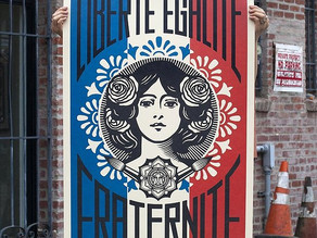 Politics and Activism in the Art of Shepard Fairey (Obey)