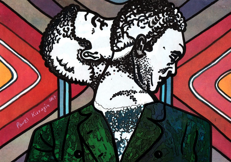 Pavel Kuragin - Collage 'Dualistic Polity'