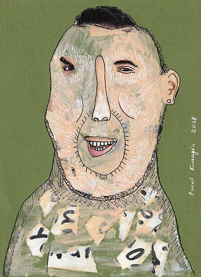 Pavel Kuragin - Collage 'Surreal Portrait #28'