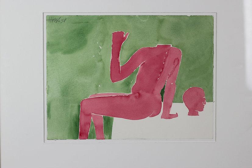 Henri de Haas - Water color