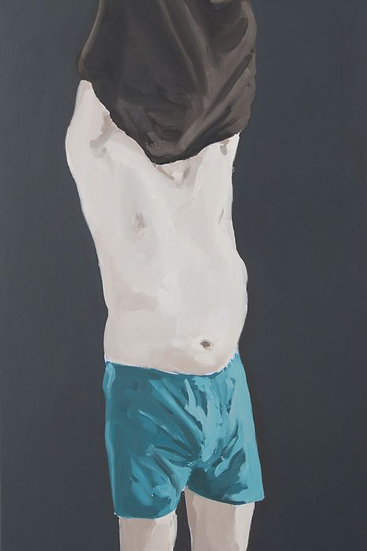 Muriel Le Pair (1970) - painting Kees