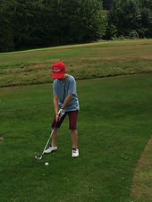 Callum Golf at Hanger.JPG