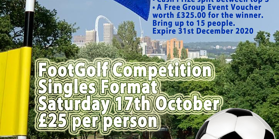 West London FootGolf Singles Championships 2020