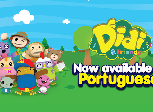 Didi & Friends Is Now In Portuguese