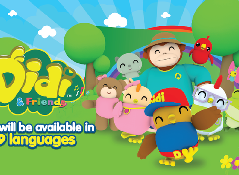 Didi & Friends Will Be Available In 9 Languages!