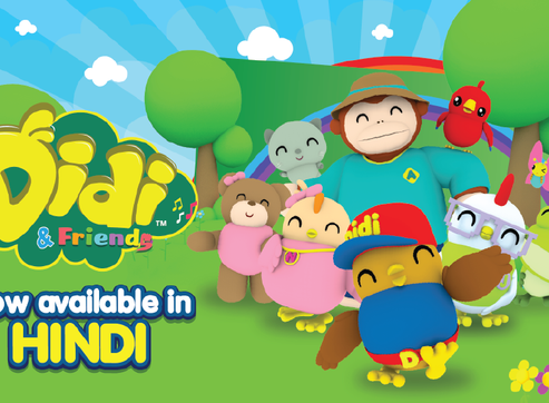Didi & Friends Is Now Available in Hindi!