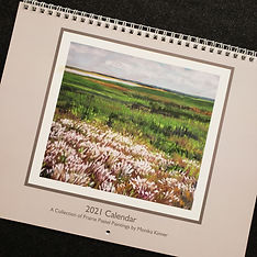 2021 Calendar Featuring Pastel Paintings