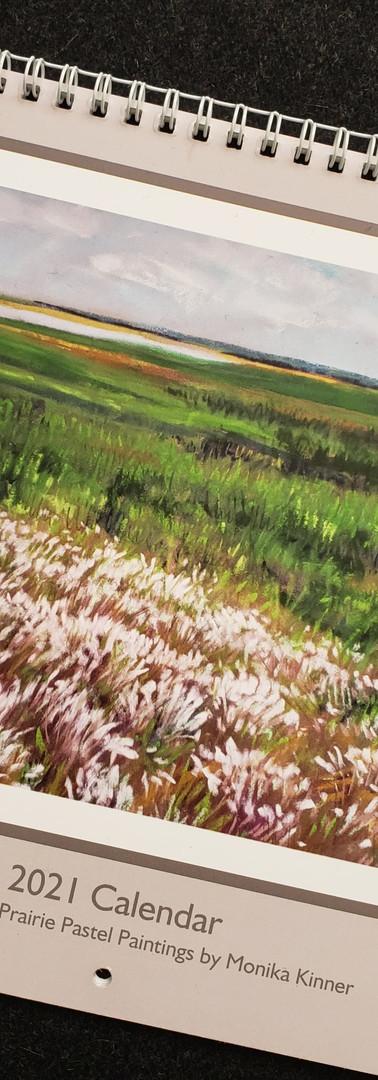 2021 Calendar Featuring Pastel Paintings