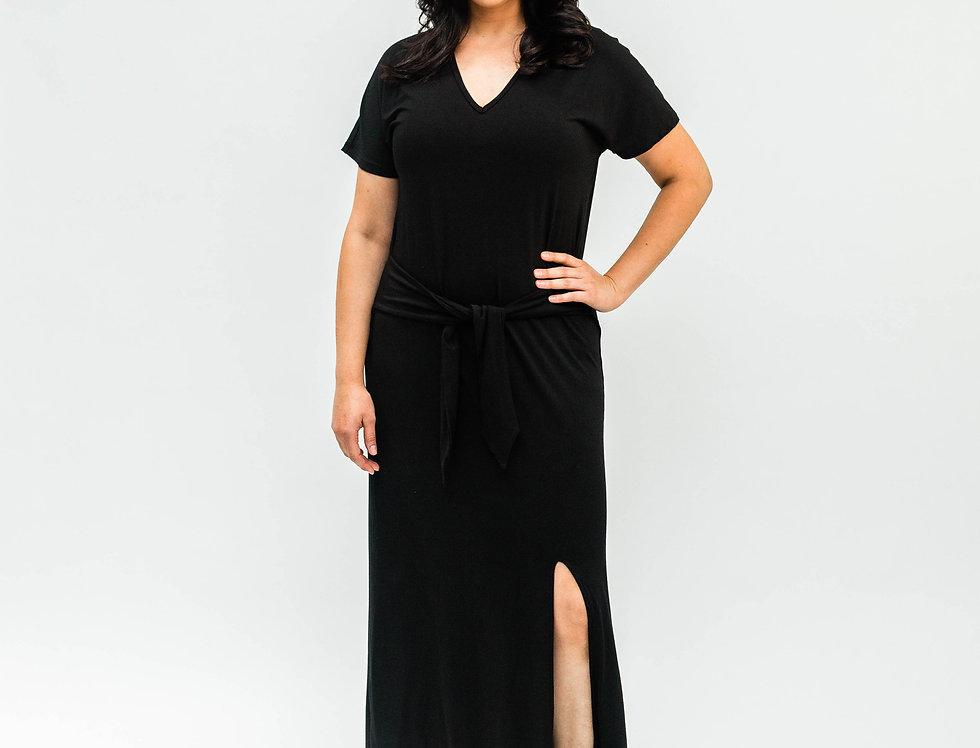 Tee Shirt Dress Black