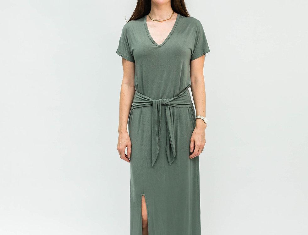 Tee Shirt Dress Olive