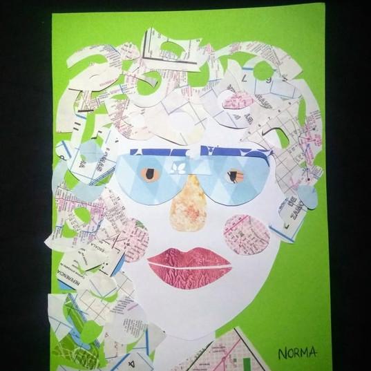 collage Rosa Sanchez
