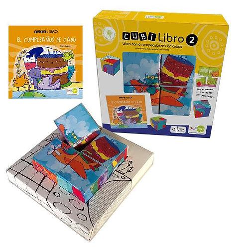 """Cubi Libro 2 """"El cumple de Cado"""""""