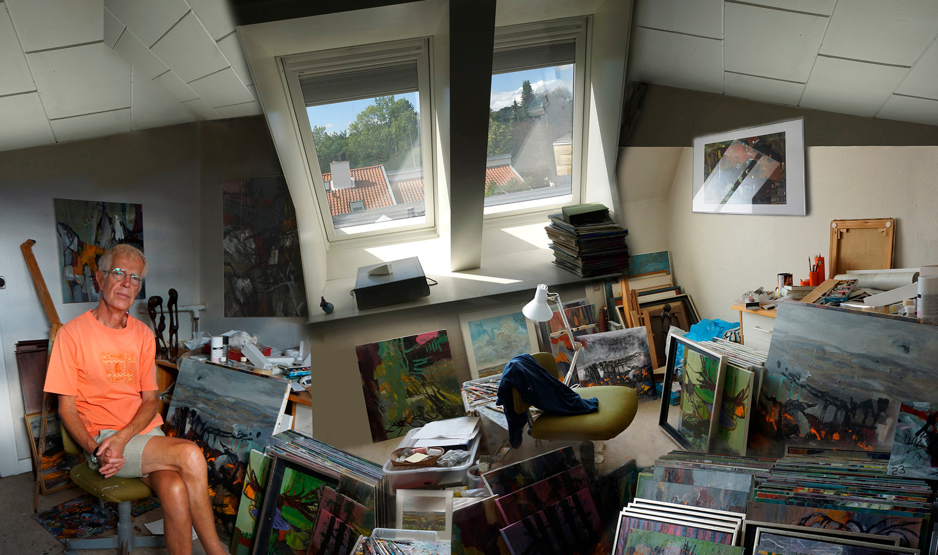 In Esben's Studio
