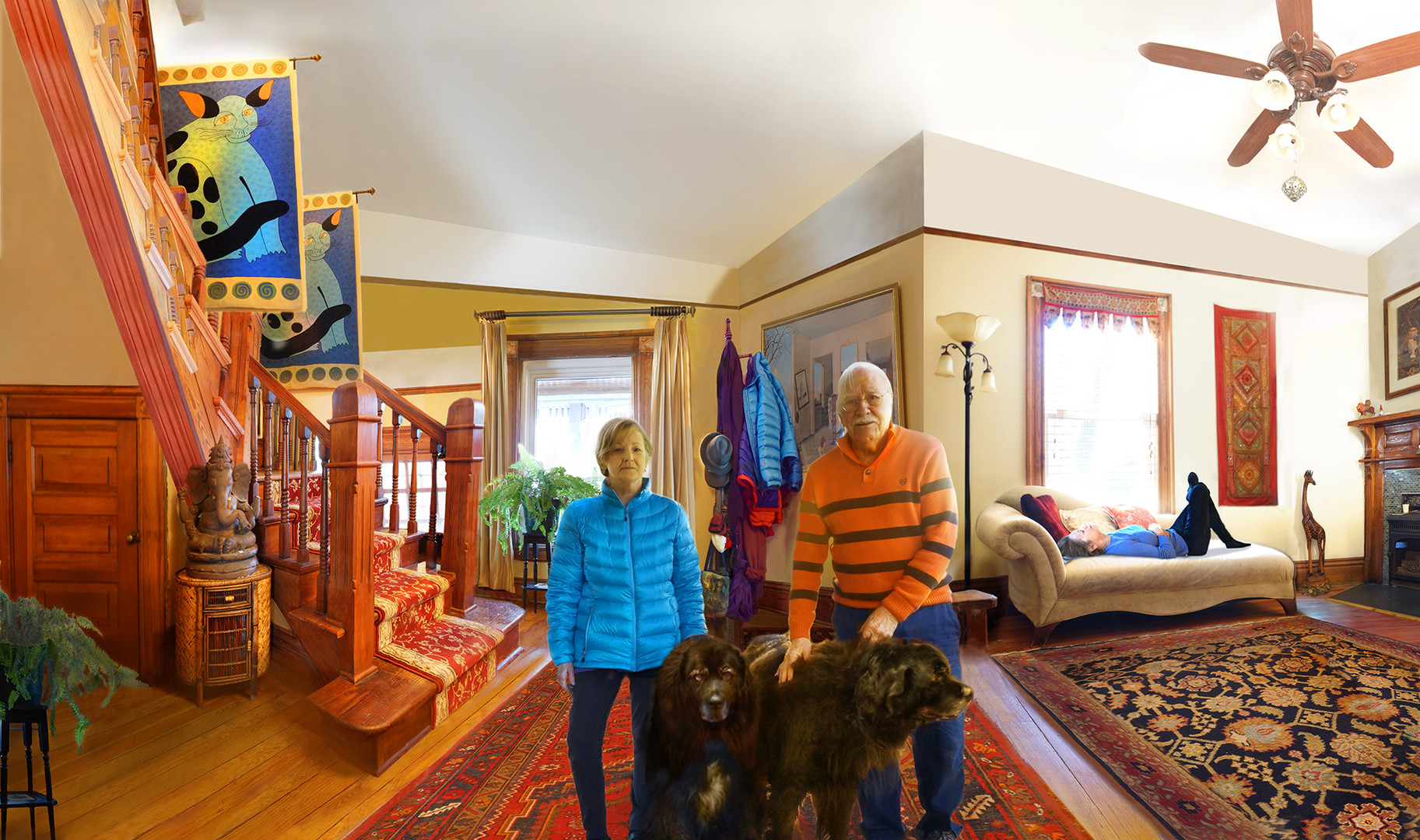 Suzanne and Marty Living in Asheville