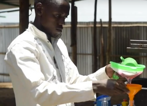Soap maker in Kenya refugee camp lowers prices to fight COVID-19