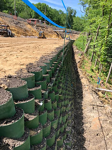 Retaining Wall for Roadway