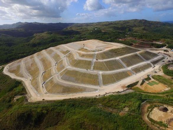 Guam Landfill Geomembrane Protection