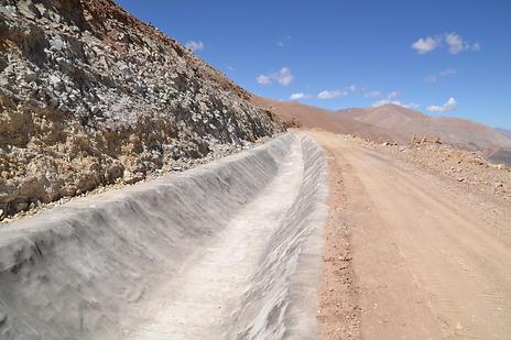 EnviroCanvas Concrete Liner for Ditches