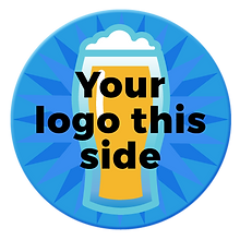 Coasters For A Cause | Your logo this side