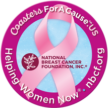 Coasters For A Cause   National Breast Cancer Foundation
