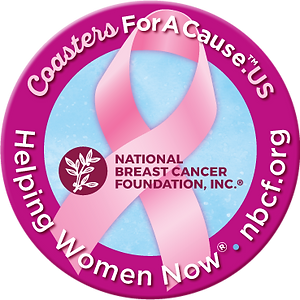 National Breast Cancer Foundation | Coasters For A Cause