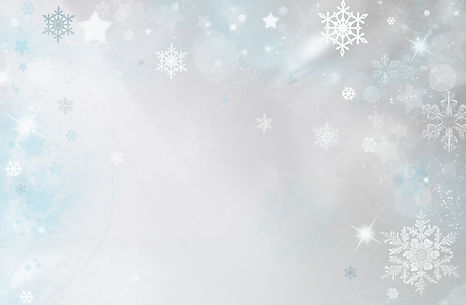Christmas background with stars and snow