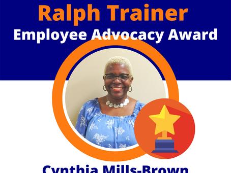 NHT Coordinator wins 2020 Ralph Trainer Employee Advocacy Award