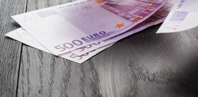 3 billets de 500 euros
