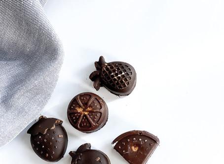 NUTTY CHOCOLATE CHEWS
