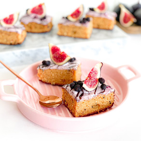 ALMOND FIG SQUARES