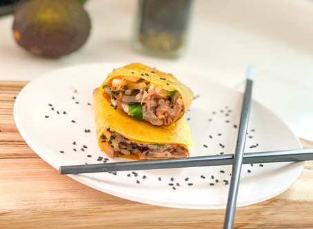 COCONUT BEANSPROUT WRAP