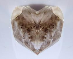 Bergkristall mit Rauchquarz