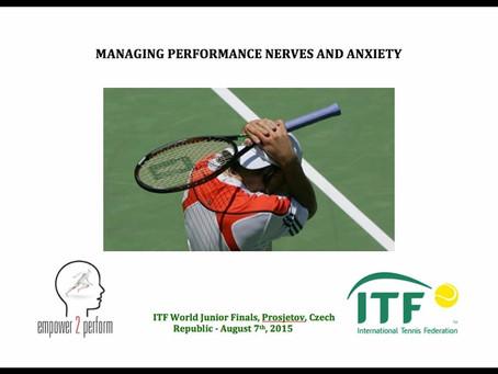ITF Junior Educational Forum in Prostejov, Czech Republic