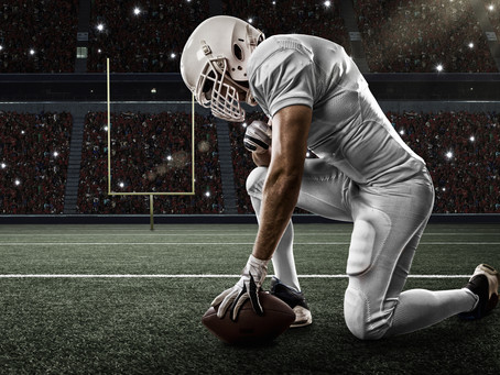 How do American football pros manage big game jitters