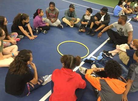 A Community Tennis Program – Teaching Personal Social Responsibility