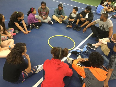 A Community Tennis Program – Teaching Personal Social Responsibility