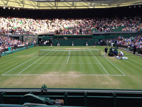 Rising to the occasion on Wimbledon Centre stage