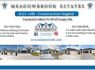 Meadowbrook Subdivision 6-24 NO Aerial 2