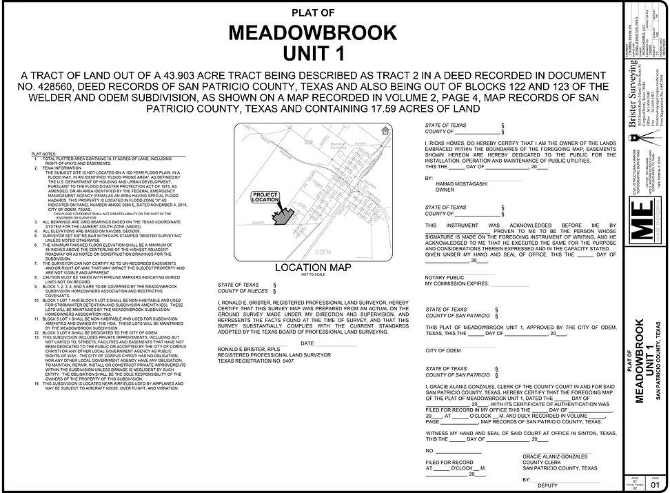 190063 - Meadowbrook PLAT U1-NFR-2020622