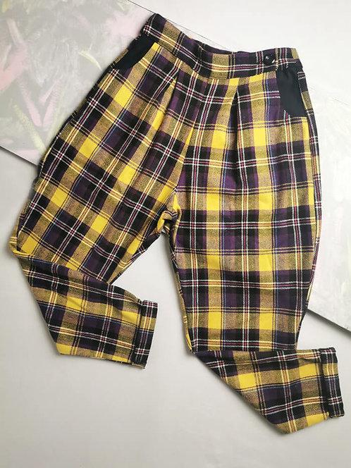 Rhubarb and Custard Peg Leg Trousers - Size 10