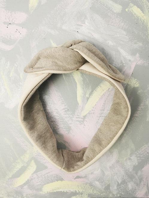 Cosy Knotted Headband - Neutral Tones